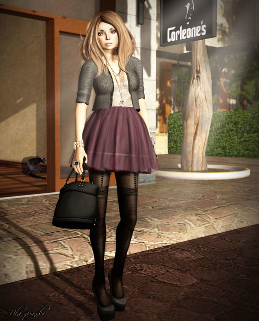 C88 Dec -tb- Amor Fati Dress - Plum