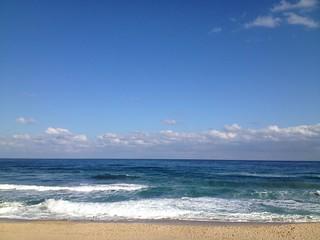 Bild av Gyeongpo Beach (경포해수욕장) Gyeongpo Beach. 한국 바다 강릉 해수욕장 gohro