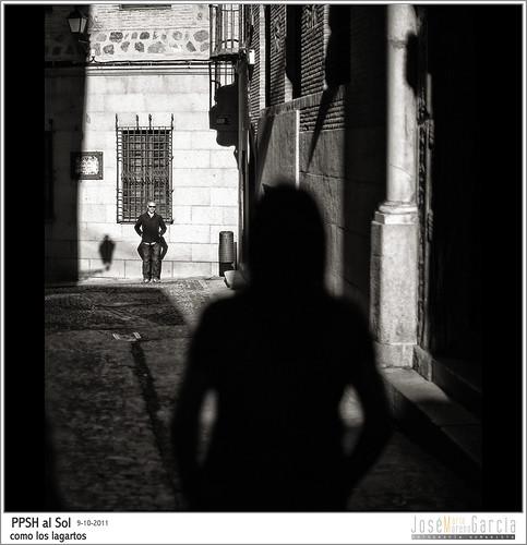 PPSH al Sol como los lagartos by José-María Moreno García = FOTÓGRAFO HUMANISTA