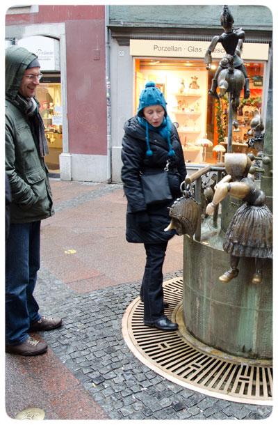 Statue-in-Aachen