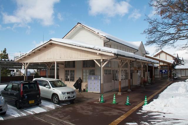 長野電鉄湯田中旧駅舎