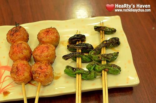 Yakitori yummy balls