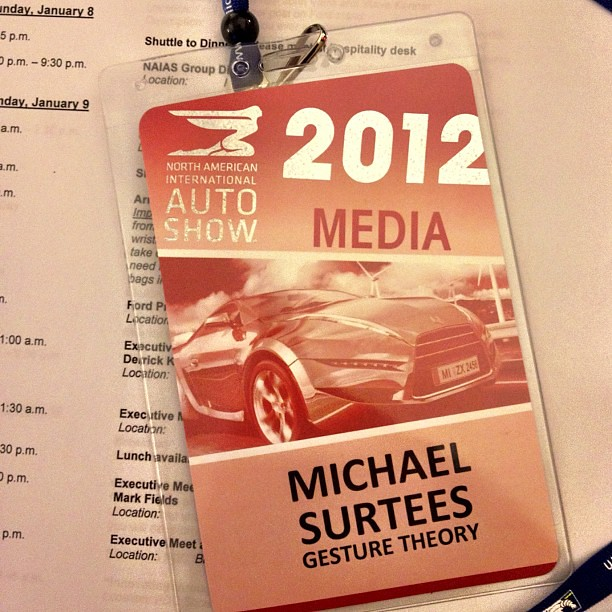 In Detroit for for the first time checking out #NAIAS & #FordNAIAS