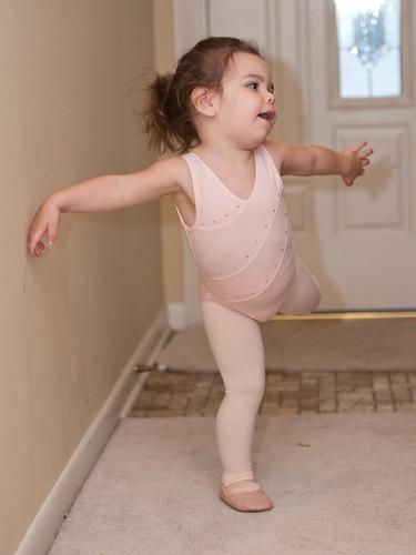 Nice dancing, Leah