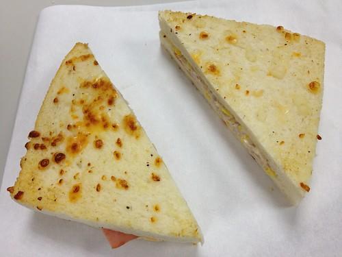 7-11(焗烤起司鮪魚三明治)
