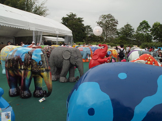 Elephant Parade Viewing Days at Botanic Garden