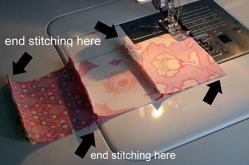 something I've learned while sewing all these little squares together