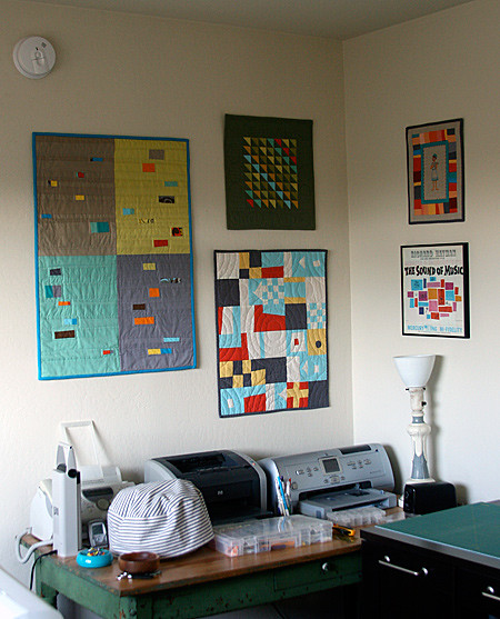Mini Quilts on the Wall!