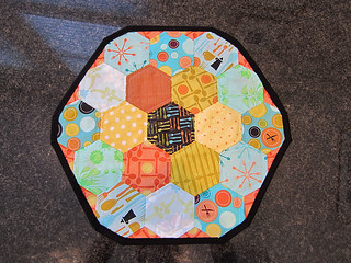 Hexagon Table Topper - Complete!