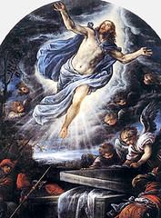 Francesco Bassano (1584), Cristo resucitado