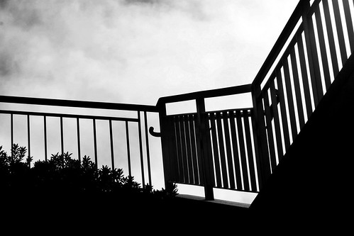 Staircase Banister Silhouette