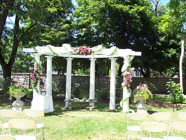 decorated wedding pergola explore sonnenbergg 39 s photos on flickr photo sharing. Black Bedroom Furniture Sets. Home Design Ideas