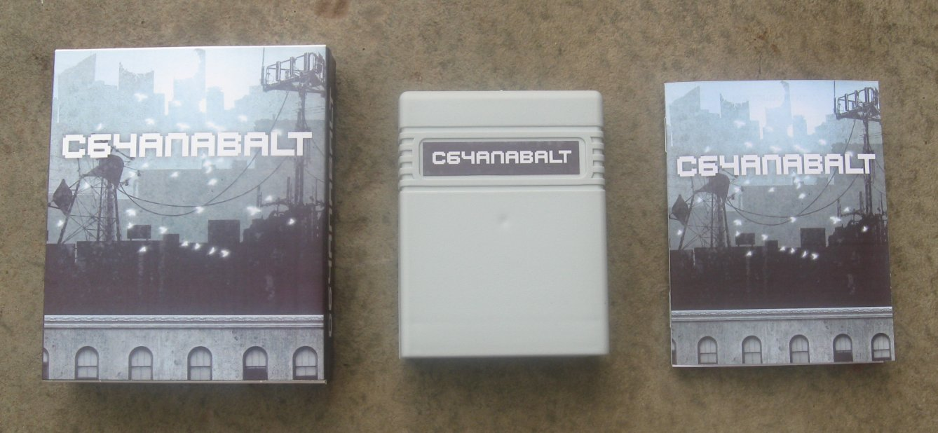 Cartucho Canabalt Commodore 64