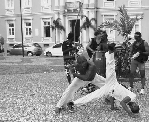 capoeira no terreiro