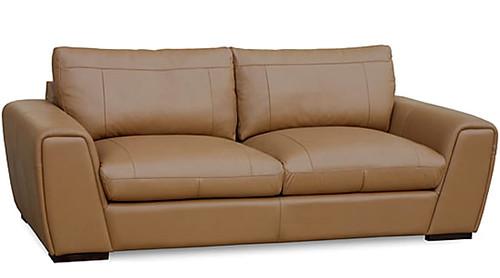 Modern Leather Sofa Furniture love seat