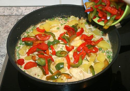 29 - Add paprika / Paprika hinzufügen