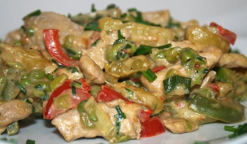 38 - Kartoffel-Paprika-Pfanne / Potato paprika stew - CloseUp