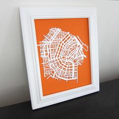 Iron Craft Challenge 1 - Papercut Map