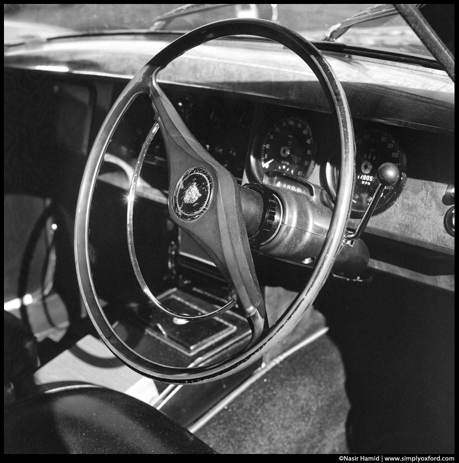 vintage jaguar interior