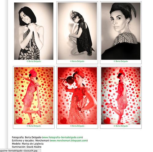 Sesión clásica en Antonia Magazine