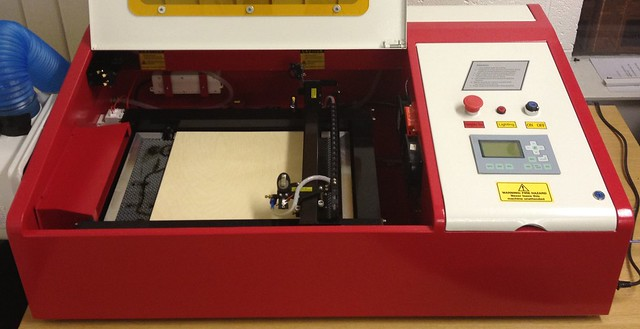 DoES Liverpool's Laser Cutter