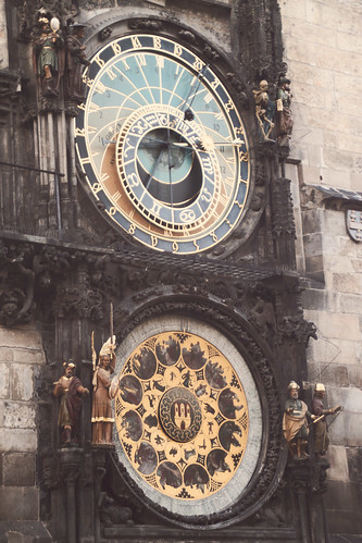 astronomical clock, Prague's Orloj (Astronomical Clock) - Oldest At Work