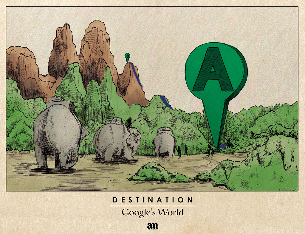 "Destination ""Google's World"""