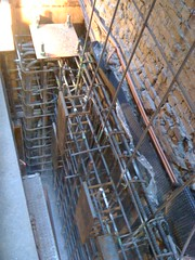 CM004 - Installation of Rebar for the Top of the West Foundation Wall at 44th St. (1-19-2012)