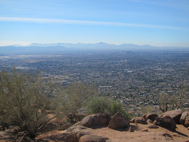 Camelback hike biking Scottsdale Jan 2012 009
