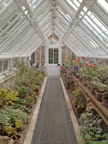 Restored greenhouse at Lost Gardens of Heligan
