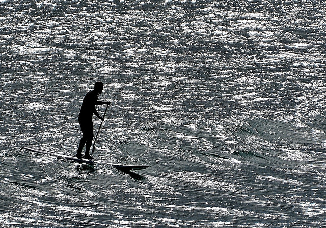 Shallow Surfer. By R J Watson