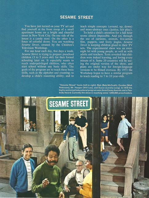 Sesame Street, NYC (Unknown Book - 1970)