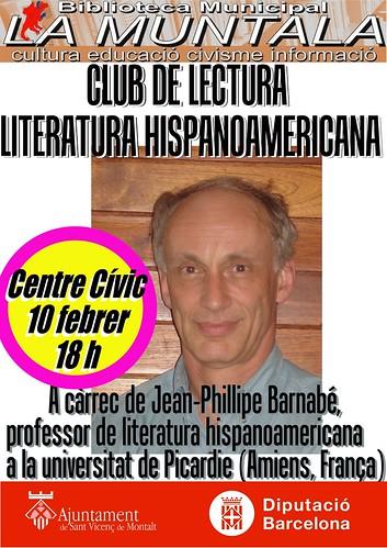 Club de lectura hispano-americana @ 10 febrer 18 h. by bibliotecalamuntala