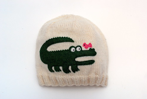 Henry's alligator hat
