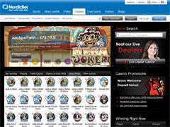 Nordicbet Casino Lobby