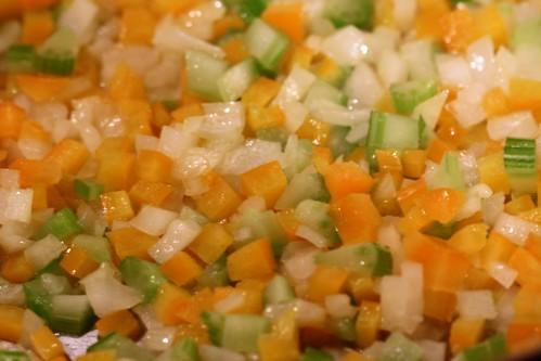 soft focus veg