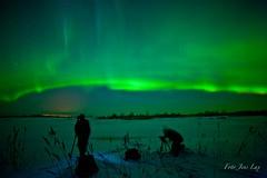 Aurora Borealis o 2 Knäppisar  / Jens by Fotoklubben Knäppisarna