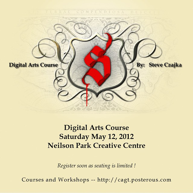 Digital Arts Course - Toronto May 12 2012