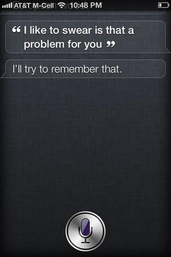 Oh, Siri.