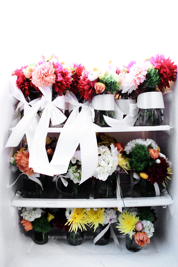 a fridge of flowers, small 2