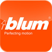 Blum Connect is a free iPad app on iTunes
