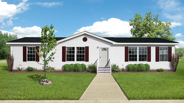 Manufactured home exterior image flickr photo sharing for Home exterior makeover app