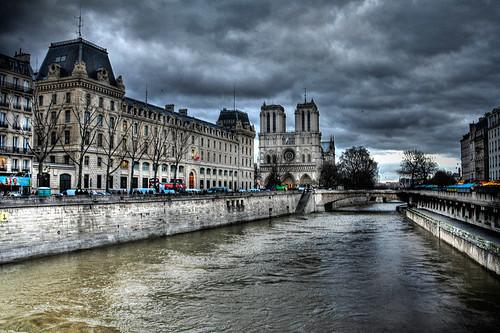 Sena y Notre Dame - París by chucafox