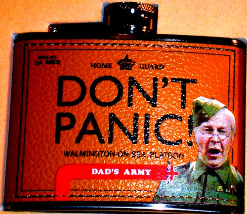 Dont panic!~ pic of the day ~ Antique