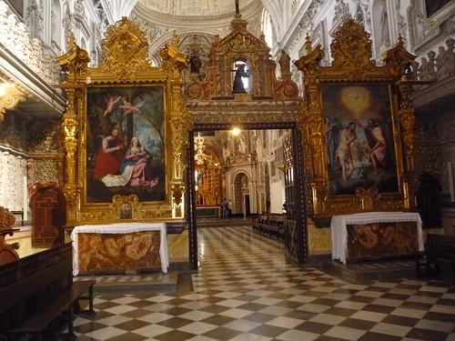 Granada Kloster La Cartuja Hauptschiff