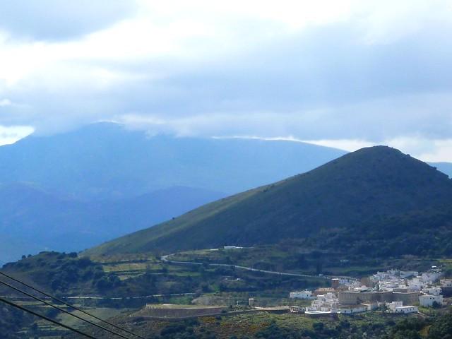 Granada Sierra Nevada Alpujarra Südhang