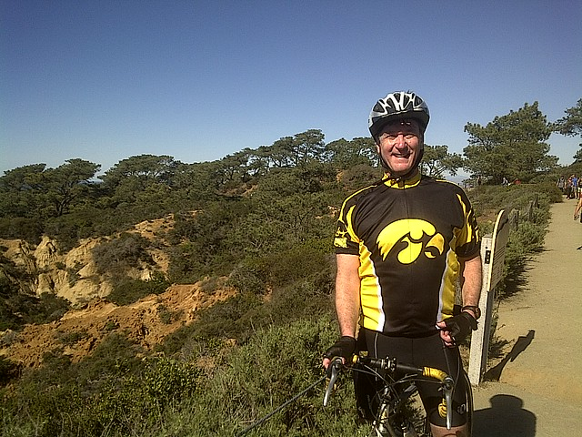 At the top of Torrey Pines!