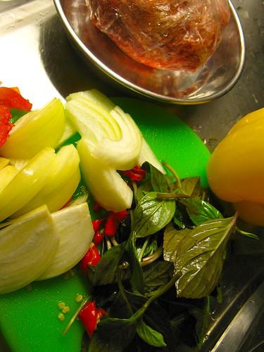 Pad Ga Prao Spicy Minced Beef with Thai Sweet Basil Singlish Swenglish