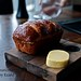 Brioche with fresh butter and black volcano salt @ Black by Ezard