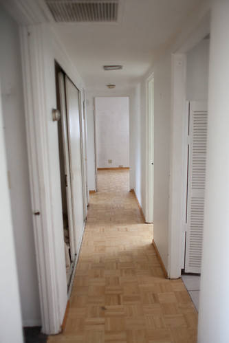 Hallway from living room to bedrooms